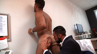 Photo number 10 from WHITE LIE: Massimo Piano and Robbie Rojo shot for Men At Play on Kink.com. Featuring Massimo Piano and Robbie Rojo in hardcore BDSM & Fetish porn.