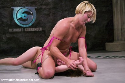 Photo number 5 from SUMMER VENGEANCE<BR>Vendetta(13-3) Ranked 1st<br>Spartica(2-0) Ranked 16th shot for Ultimate Surrender on Kink.com. Featuring Devi Lynne and Vendetta in hardcore BDSM & Fetish porn.
