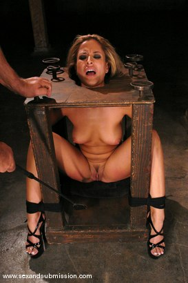 Photo number 7 from August Bound shot for Sex And Submission on Kink.com. Featuring Ben English and August in hardcore BDSM & Fetish porn.