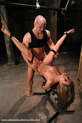 Photo number 11 from August Bound shot for Sex And Submission on Kink.com. Featuring Ben English and August in hardcore BDSM & Fetish porn.