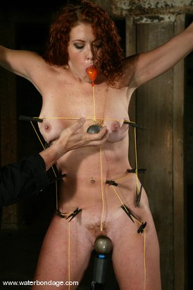 Photo number 3 from Sabrina Fox IS a fox!! shot for Water Bondage on Kink.com. Featuring Sabrina Fox in hardcore BDSM & Fetish porn.