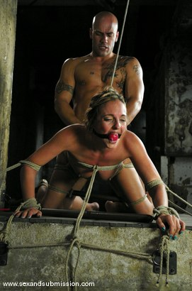 Photo number 10 from Day Dreamer shot for Sex And Submission on Kink.com. Featuring Derrick Pierce and Lexi Love in hardcore BDSM & Fetish porn.