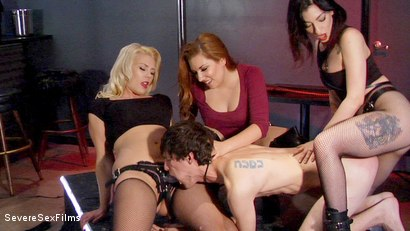 Strip Club Gangbang (Part 2 of 2)