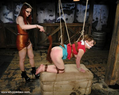 Photo number 10 from Bonus shot for Whipped Ass on Kink.com. Featuring Roma and Claire Adams in hardcore BDSM & Fetish porn.