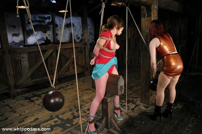 Photo number 6 from Bonus shot for Whipped Ass on Kink.com. Featuring Roma and Claire Adams in hardcore BDSM & Fetish porn.