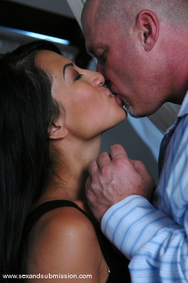 Photo number 1 from The Anniversary shot for Sex And Submission on Kink.com. Featuring Eva Angelina, Gianna Lynn and Mark Davis in hardcore BDSM & Fetish porn.