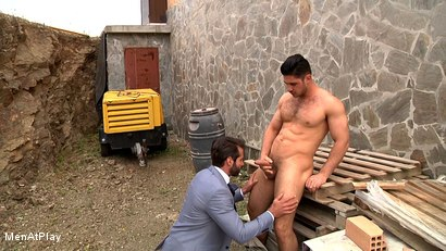Photo number 9 from BLUEPRINT: Dani Robles and Dato Foland shot for Men At Play on Kink.com. Featuring Dato Foland and Dani Robles in hardcore BDSM & Fetish porn.