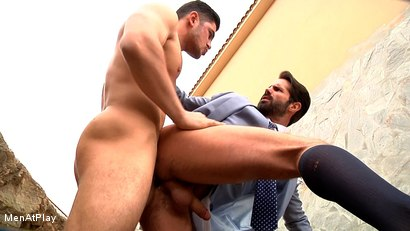Photo number 14 from BLUEPRINT: Dani Robles and Dato Foland shot for Men At Play on Kink.com. Featuring Dato Foland and Dani Robles in hardcore BDSM & Fetish porn.