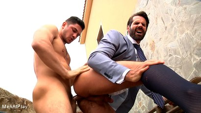 Photo number 15 from BLUEPRINT: Dani Robles and Dato Foland shot for Men At Play on Kink.com. Featuring Dato Foland and Dani Robles in hardcore BDSM & Fetish porn.