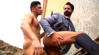 Photo number 16 from BLUEPRINT: Dani Robles and Dato Foland shot for Men At Play on Kink.com. Featuring Dato Foland and Dani Robles in hardcore BDSM & Fetish porn.