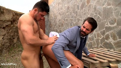 Photo number 19 from BLUEPRINT: Dani Robles and Dato Foland shot for Men At Play on Kink.com. Featuring Dato Foland and Dani Robles in hardcore BDSM & Fetish porn.