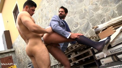 Photo number 20 from BLUEPRINT: Dani Robles and Dato Foland shot for Men At Play on Kink.com. Featuring Dato Foland and Dani Robles in hardcore BDSM & Fetish porn.