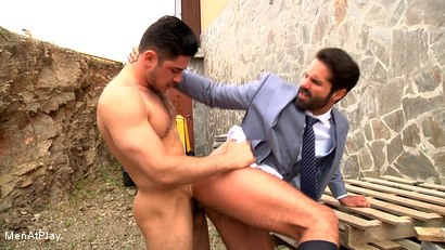 Photo number 21 from BLUEPRINT: Dani Robles and Dato Foland shot for Men At Play on Kink.com. Featuring Dato Foland and Dani Robles in hardcore BDSM & Fetish porn.