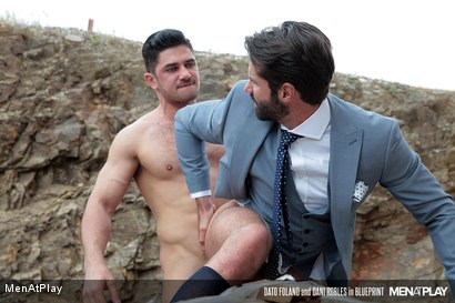 Photo number 27 from BLUEPRINT: Dani Robles and Dato Foland shot for Men At Play on Kink.com. Featuring Dato Foland and Dani Robles in hardcore BDSM & Fetish porn.