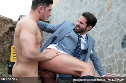 Photo number 29 from BLUEPRINT: Dani Robles and Dato Foland shot for Men At Play on Kink.com. Featuring Dato Foland and Dani Robles in hardcore BDSM & Fetish porn.