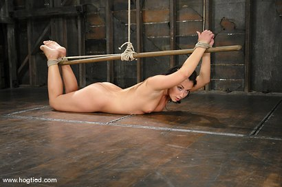 Photo number 6 from Bianca Dagger suffers and cums though her first hardcore bondage experience. shot for Hogtied on Kink.com. Featuring Bianca Dagger in hardcore BDSM & Fetish porn.