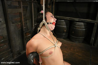 Photo number 7 from Bianca Dagger suffers and cums though her first hardcore bondage experience. shot for Hogtied on Kink.com. Featuring Bianca Dagger in hardcore BDSM & Fetish porn.