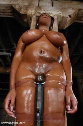 Photo number 13 from Candace Von and her huge natural booming tits. shot for Hogtied on Kink.com. Featuring Candace Von in hardcore BDSM & Fetish porn.