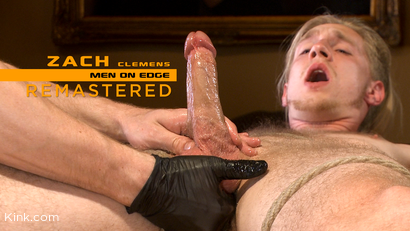 Zach Clemens: Straight Stud Blows Huge Load from Prostate Milking
