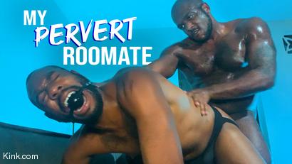 My Pervert Roommate: Micah Martinez Fucks Snoop August Alexander RAW