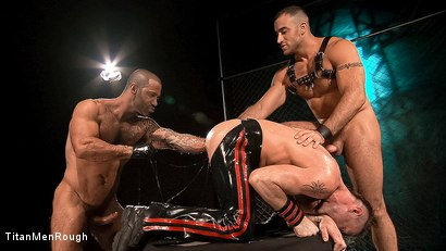 FIST DEEP: Junior Stellano, Spencer Reed, Tibor Wolfe