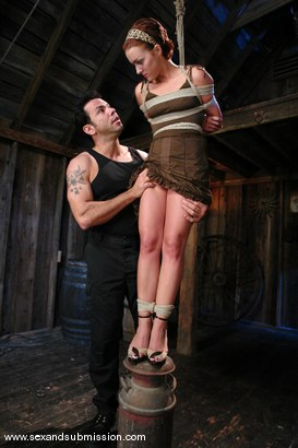 Photo number 1 from Return of Sara Faye shot for Sex And Submission on Kink.com. Featuring Steven St. Croix and Sara Faye in hardcore BDSM & Fetish porn.