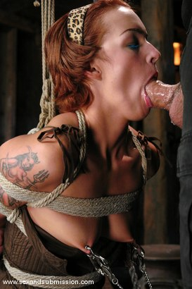 Photo number 7 from Return of Sara Faye shot for Sex And Submission on Kink.com. Featuring Steven St. Croix and Sara Faye in hardcore BDSM & Fetish porn.