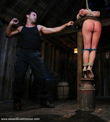 Photo number 3 from Return of Sara Faye shot for Sex And Submission on Kink.com. Featuring Steven St. Croix and Sara Faye in hardcore BDSM & Fetish porn.