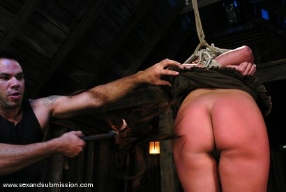 Photo number 2 from Return of Sara Faye shot for Sex And Submission on Kink.com. Featuring Steven St. Croix and Sara Faye in hardcore BDSM & Fetish porn.