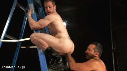 ANAL ASSAULT: Billy Berlin and Alessio Romero