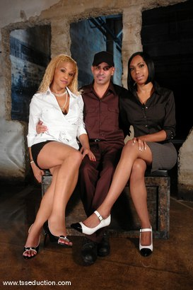 Photo number 1 from Diezel, Jessica Host and Sexy Jade shot for TS Seduction on Kink.com. Featuring Jessica Host, Sexy Jade and Diezel in hardcore BDSM & Fetish porn.