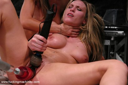 Photo number 14 from Sammie and Harmony Live shot for Fucking Machines on Kink.com. Featuring Harmony and Sammie Rhodes in hardcore BDSM & Fetish porn.