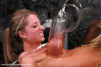 Photo number 3 from Sammie and Harmony Live shot for Fucking Machines on Kink.com. Featuring Harmony and Sammie Rhodes in hardcore BDSM & Fetish porn.