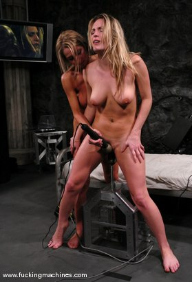 Photo number 12 from Sammie and Harmony Live shot for Fucking Machines on Kink.com. Featuring Harmony and Sammie Rhodes in hardcore BDSM & Fetish porn.