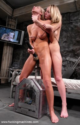 Photo number 9 from Sammie and Harmony Live shot for Fucking Machines on Kink.com. Featuring Harmony and Sammie Rhodes in hardcore BDSM & Fetish porn.