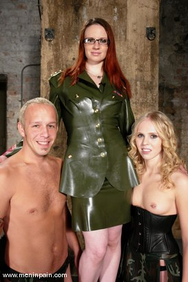 Photo number 1 from Billy, Sarah Jane Ceylon and Claire Adams shot for Men In Pain on Kink.com. Featuring Claire Adams, Billy and Sarah Jane Ceylon in hardcore BDSM & Fetish porn.