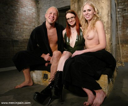 Photo number 15 from Billy, Sarah Jane Ceylon and Claire Adams shot for Men In Pain on Kink.com. Featuring Claire Adams, Billy and Sarah Jane Ceylon in hardcore BDSM & Fetish porn.