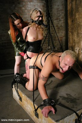 Photo number 5 from Billy, Sarah Jane Ceylon and Claire Adams shot for Men In Pain on Kink.com. Featuring Claire Adams, Billy and Sarah Jane Ceylon in hardcore BDSM & Fetish porn.