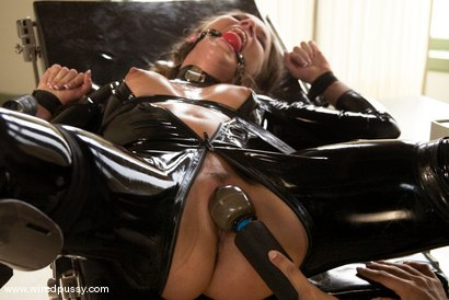 Photo number 11 from Sandra's Latex Slave shot for Wired Pussy on Kink.com. Featuring Sandra Romain and Devaun in hardcore BDSM & Fetish porn.