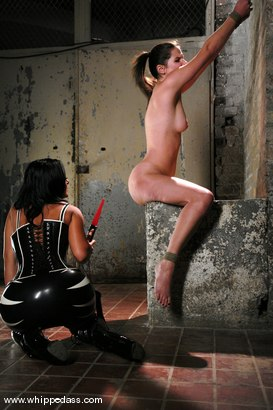 Photo number 5 from Sandra Romain and Bobbi Starr shot for Whipped Ass on Kink.com. Featuring Sandra Romain and Bobbi Starr in hardcore BDSM & Fetish porn.