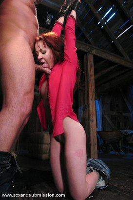 Photo number 5 from Trinity is amazing in first time boy/girl bondage sex. shot for Sex And Submission on Kink.com. Featuring Mark Davis and Trinity Post in hardcore BDSM & Fetish porn.