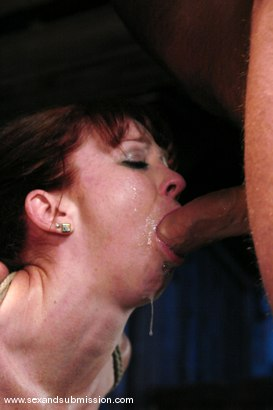 Photo number 9 from Trinity is amazing in first time boy/girl bondage sex. shot for Sex And Submission on Kink.com. Featuring Mark Davis and Trinity Post in hardcore BDSM & Fetish porn.