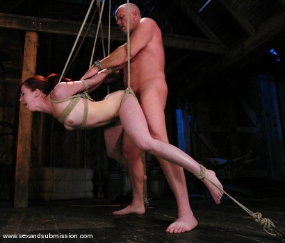 Photo number 10 from Trinity is amazing in first time boy/girl bondage sex. shot for Sex And Submission on Kink.com. Featuring Mark Davis and Trinity Post in hardcore BDSM & Fetish porn.