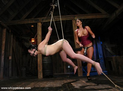 Photo number 13 from Alexa Von Tess and Sandra Romain shot for Whipped Ass on Kink.com. Featuring Sandra Romain and Alexa Von Tess in hardcore BDSM & Fetish porn.