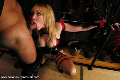 Photo number 7 from Audrey Elson shot for Sex And Submission on Kink.com. Featuring Steven St. Croix and Holly Golightly in hardcore BDSM & Fetish porn.