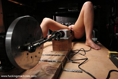 Photo number 7 from Brook Scott is in the Building shot for Fucking Machines on Kink.com. Featuring Brook Scott in hardcore BDSM & Fetish porn.