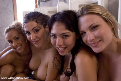 Photo number 15 from The New Girl shot for Wired Pussy on Kink.com. Featuring Harmony, Isis Love and LieLani in hardcore BDSM & Fetish porn.
