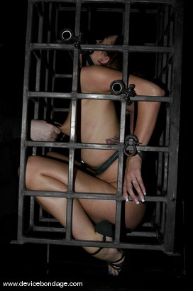 Photo number 10 from Cramped shot for Device Bondage on Kink.com. Featuring Alexa Von Tess in hardcore BDSM & Fetish porn.