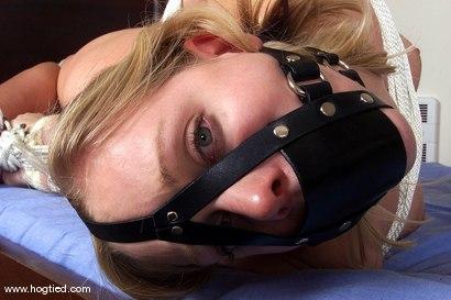 Photo number 5 from Rhannion shot for Hogtied on Kink.com. Featuring Rhannion in hardcore BDSM & Fetish porn.