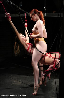 Photo number 9 from Claire Adams  Does Charlotte Brooks! shot for Water Bondage on Kink.com. Featuring Claire Adams and Charlotte Brooke in hardcore BDSM & Fetish porn.